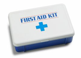 summer safety first aid kit