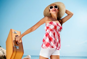 summer travel beach