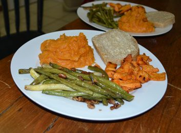 meatlessmondaykatharinesweetpotatogreenbean