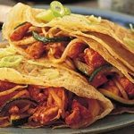 Sweet and Sour Chicken Pancakes