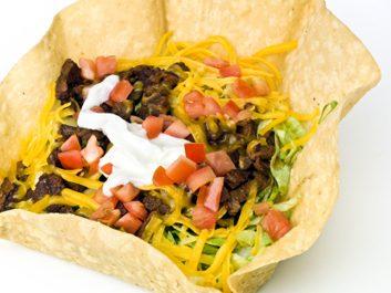 Taco Bell Fiesta Taco Salad