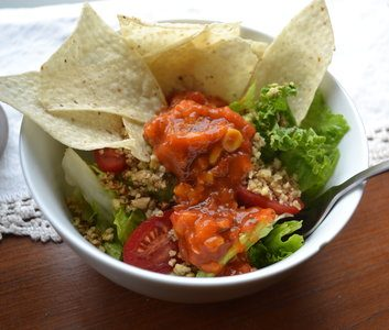 Meatless Monday: Taco Salad