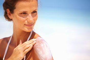 tanning lotion skin sunscreen