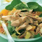 Tarragon Chicken with Baby Spinach