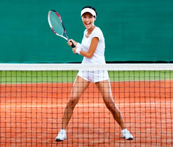 The fitness benefits of tennis