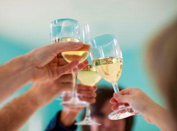 wine toast cheers celebration