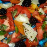 Meatless Monday: Goat's Cheese & Tomato Salad