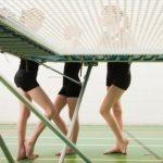Fitness trend: Trampoline dodgeball