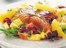 Tropical Salmon Salad