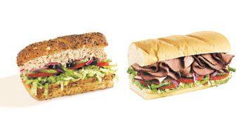 Fast-Food Swap: Subway