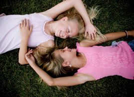 Are girls growing up too fast?