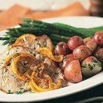 Veal Steaks with Lemon-Garlic Sauce