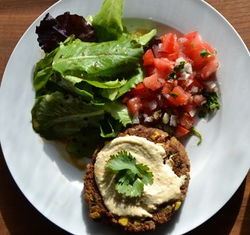 Meatless Monday: Rice and Black Bean Burgers