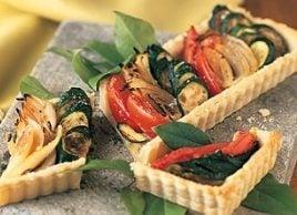 Vegetable Tart Provencale