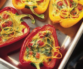 10 diabetes friendly vegetarian recipes best health magazine canada cheese baked peppers forumfinder Choice Image