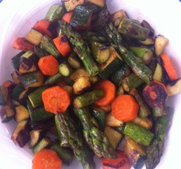 Meatless Monday: Simple Seasonal Veggies