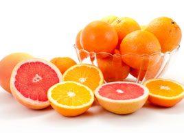 Vitamin C orange grapefruit juice citrus