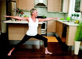Yoga pose of the month: Engage inner strength with Warrior II