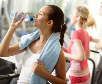 water break workout gym