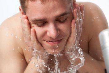 man skincare face wash