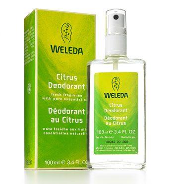 3. Weleda Citrus Deodorant