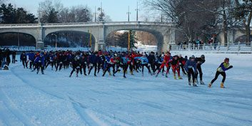 1. Winterlude Triathlon