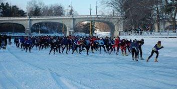 1. Winterlude Triathlon
