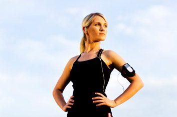 running woman ipod