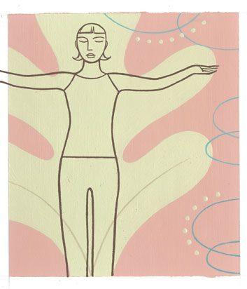 yoga arm lifts