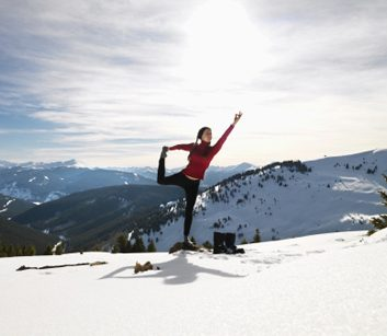 8 great things about yoga in the winter
