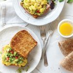 Breakfast Sandwiches with Smashed Avocado
