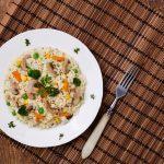 Butter-Free Mushroom Quinoa Risotto