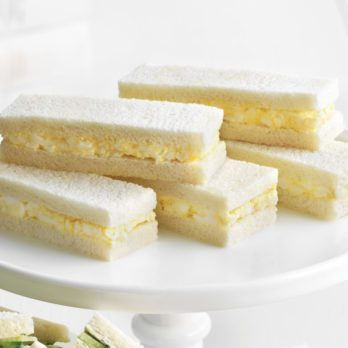 Egg Salad Tea Sandwiches