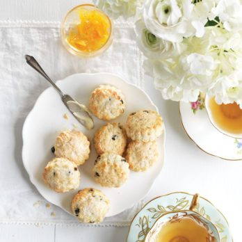 Lemon and Currant Scones