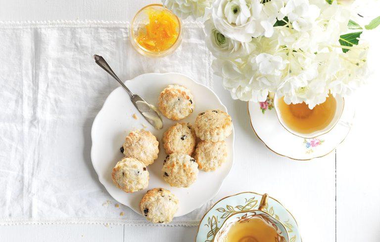 Lemon and Currant Scones   citrus recipes