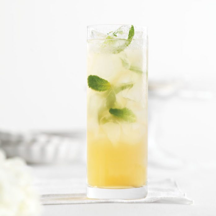 Mint Tea Cocktail