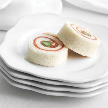Asparagus Smoked Salmon Pinwheels