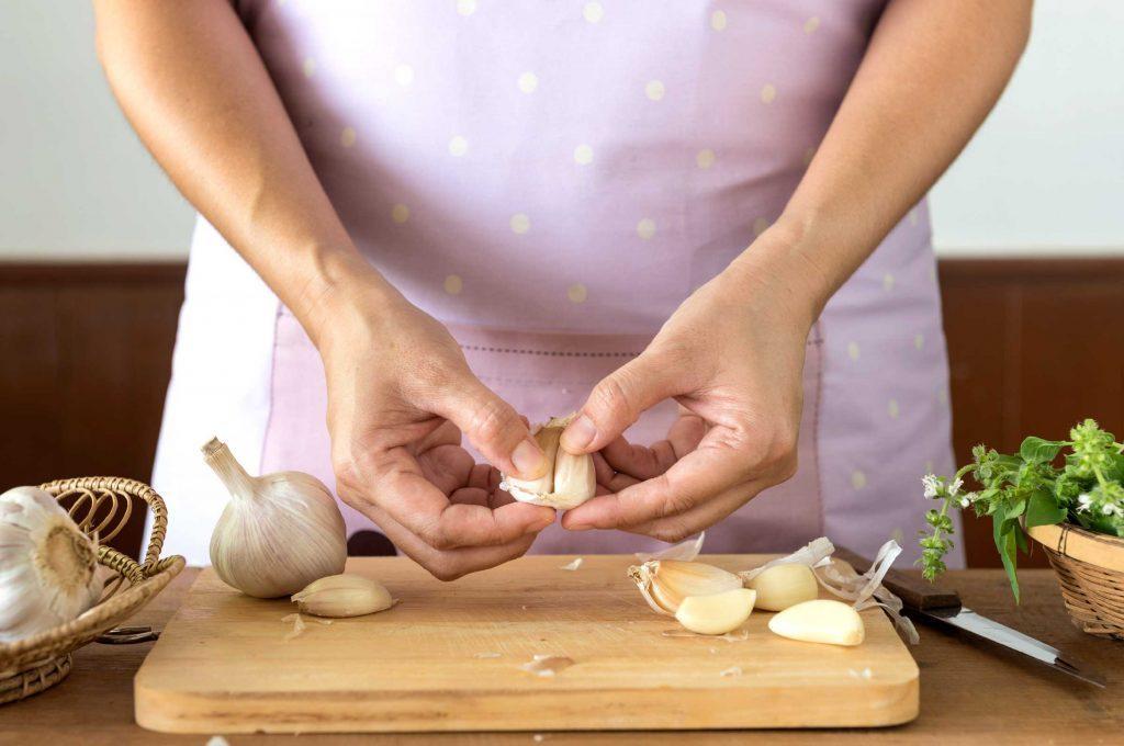 healthy eating garlic