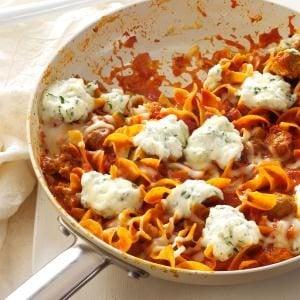 favourite-skillet-lasagna