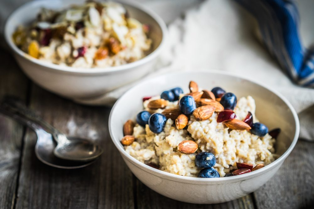 mind diet oatmeal