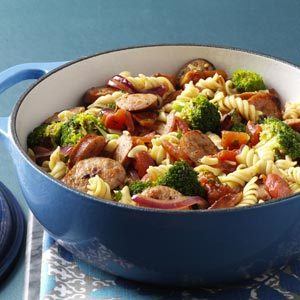 pasta-and-broccoli-sausage-simmer