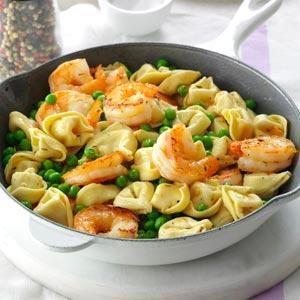 shrimp-tortellini-pasta-toss