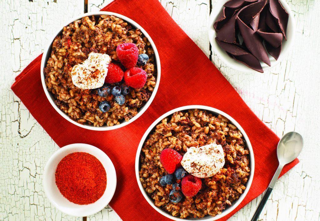 Chili and Chocolate Rice and Quinoa Pudding002