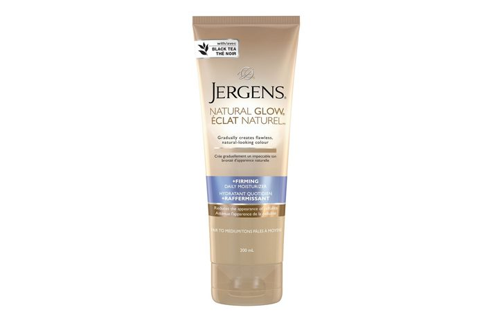 Jergens Natural Glow with Black Tea