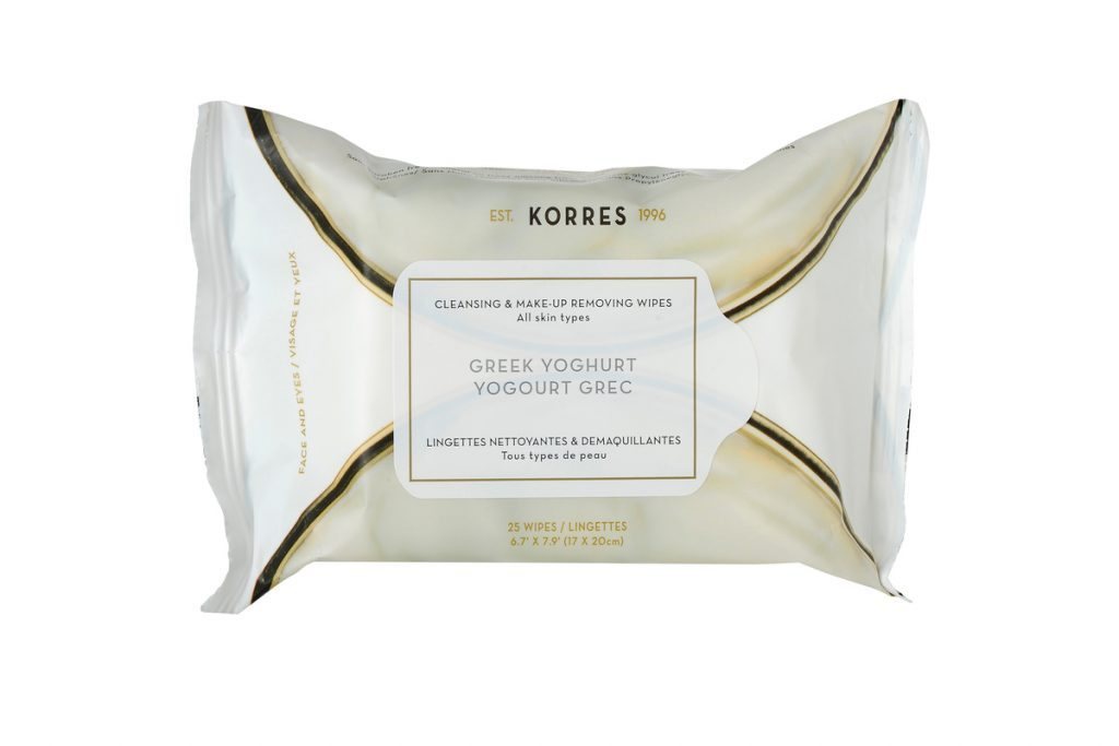 Korres Greek Yogurt Cleansing Wipes