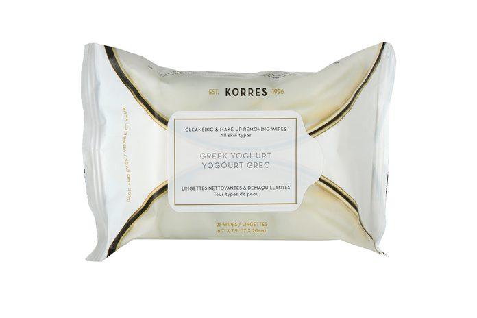 Korres Greek Yogurt Cleansing Wipes