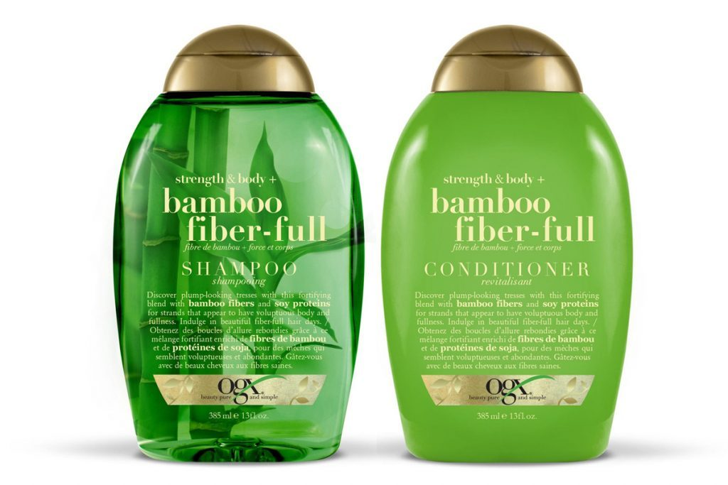 OGX Bamboo Fiber Full Shampoo Conditioner