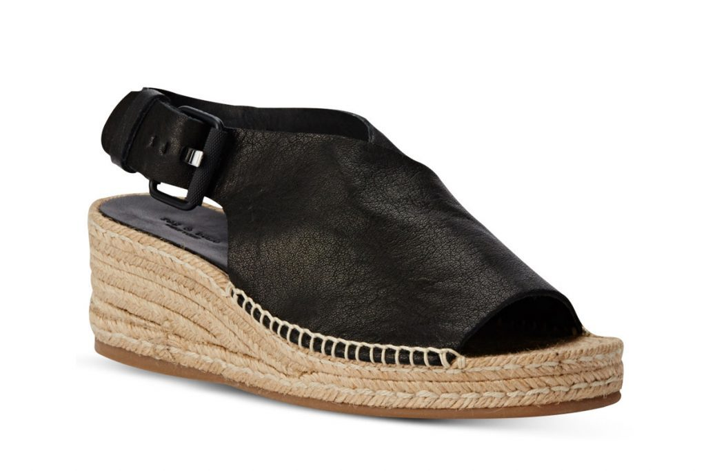 Rag and Bone Sienna Leather Espadrilles