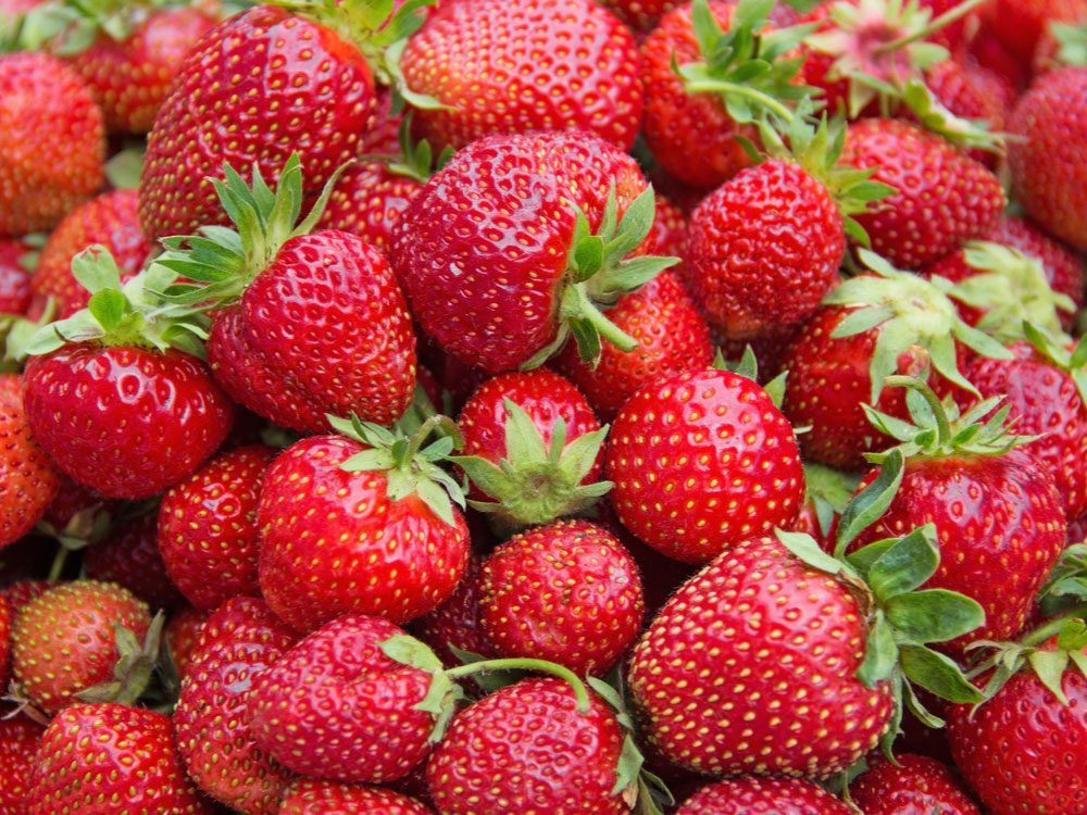 Strawberry, reduce inflammation