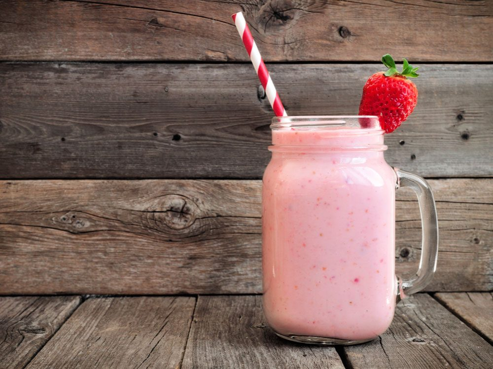 Strawberry, smoothie